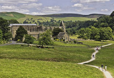 Bolton abbey. Skipton, North Yorkshire, UK Stock Image