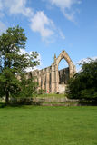 Bolton Abbey, Yorkshire. The Remains of an old abbey in Wharfedale in the Yorkshire Dales National Park stock photo