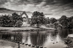 Bolton Abbey in yorkshire, England Royalty Free Stock Image