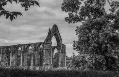 Bolton Abbey in yorkshire, England Stock Photos