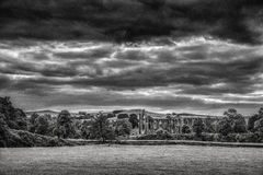 Bolton Abbey in yorkshire, England. UK Royalty Free Stock Photos