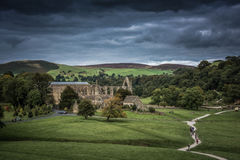 Bolton Abbey in yorkshire, England Royalty Free Stock Photos