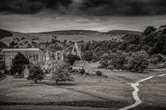 Bolton Abbey in yorkshire, England Royalty Free Stock Photography