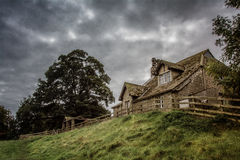 Bolton Abbey in yorkshire, England. UK Royalty Free Stock Photography