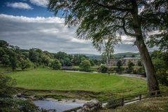 Bolton Abbey in yorkshire, England Royalty Free Stock Images