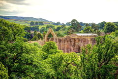 Bolton Abbey in Yorkshire, UK. Stock Image