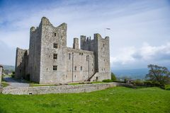 Bolton Castle in Wensleydale, Yorkshire, England. Royalty Free Stock Photo