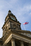 Bolton, England town hall. Royalty Free Stock Photo