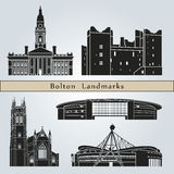 Bolton landmarks and monuments Royalty Free Stock Image