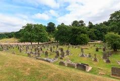 Bolton opactwa cmentarz Zdjęcia Stock