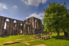 Bolton opactwo w Yorkshire dolinach, Wielki Brytania obraz stock