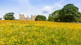 Bolton slott i North Yorkshire arkivfoton