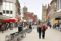 Bolton UK Arkivbild