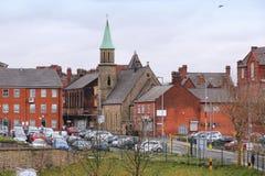Bolton UK Arkivfoto