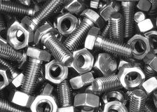 Bolts And Nuts Royalty Free Stock Photo
