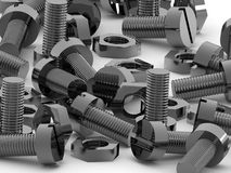 Free Bolts And Nuts Stock Images - 2427844