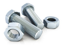 Free Bolts And Nuts Royalty Free Stock Photo - 26850815
