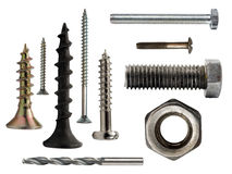 Bolts And Screws Royalty Free Stock Image