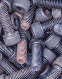 Bolts closeup Stock Image