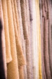 Bolts of mohair cloth Stock Image