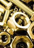 Bolts & Nuts Royalty Free Stock Images