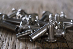Bolts and nuts Royalty Free Stock Photography