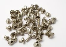Bolts and screw Stock Photo