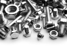 Bolts and screw Royalty Free Stock Photo