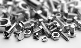 Bolts and screw Royalty Free Stock Photography
