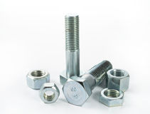 Bolts and screws Stock Image