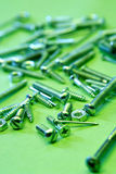Bolts, screws, nuts Stock Photo