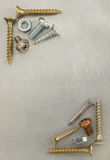 Bolts, screws and nuts royalty free stock photography