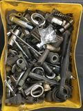 Bolts tools and nuts Royalty Free Stock Images