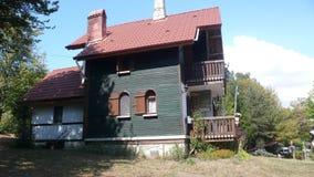 Bolu old house. Abant old turkish house Royalty Free Stock Image
