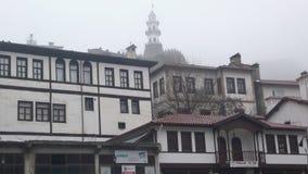 Bolu old houses. Ottoman villages in bolu Stock Photography