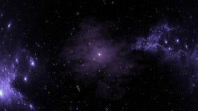 Bolvormige nevel na supernovaexplosie in diepe ruimte stock footage