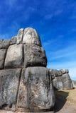 Bolwerk van de Inca het oude ruïne stock fotografie