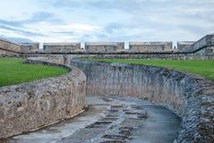 Bolwerk van Fuerte DE San Miguel in Campeche Mexico stock afbeeldingen