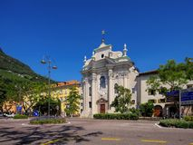 Bolzano Abbey Muri-Gries Royalty Free Stock Photography