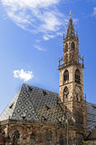 Bolzano / Bozen, Italy. Church in Bolzano / Bozen, Italy stock photography