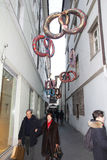 Bolzano brezel Stock Foto