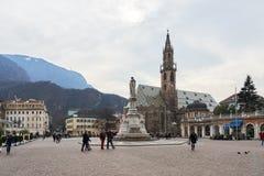 Bolzano Cathedral Stock Image