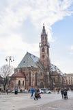 Bolzano Cathedral Stock Photography