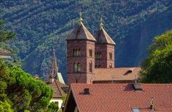 Bolzano Chiesa del Sacro Cuore Fotos de archivo libres de regalías