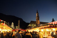 Bolzano december Stock Photography
