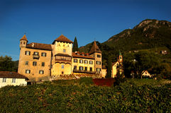 Bolzano,Italy. Medieval architecture of Bolzano, Trentino – Alto Adige in northern Italy Stock Photo