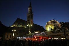 Bolzano lights Royalty Free Stock Photography