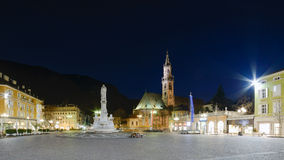 Bolzano - Piazza Walther Von Der Vogelweide Royalty Free Stock Images