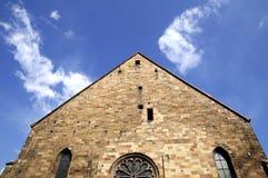 Bolzano's church stock images