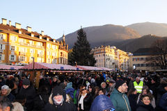 Bolzano square Royalty Free Stock Photo